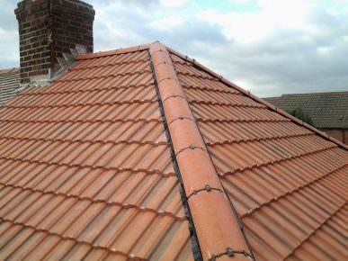 ridge tile