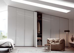 integrated wardrobes