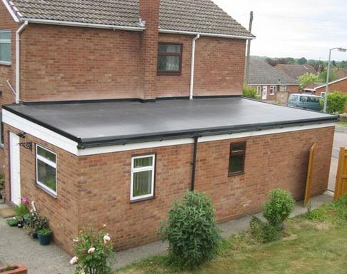 Flat Roof Materials Upvc Asphalt Waterproof Fireglass