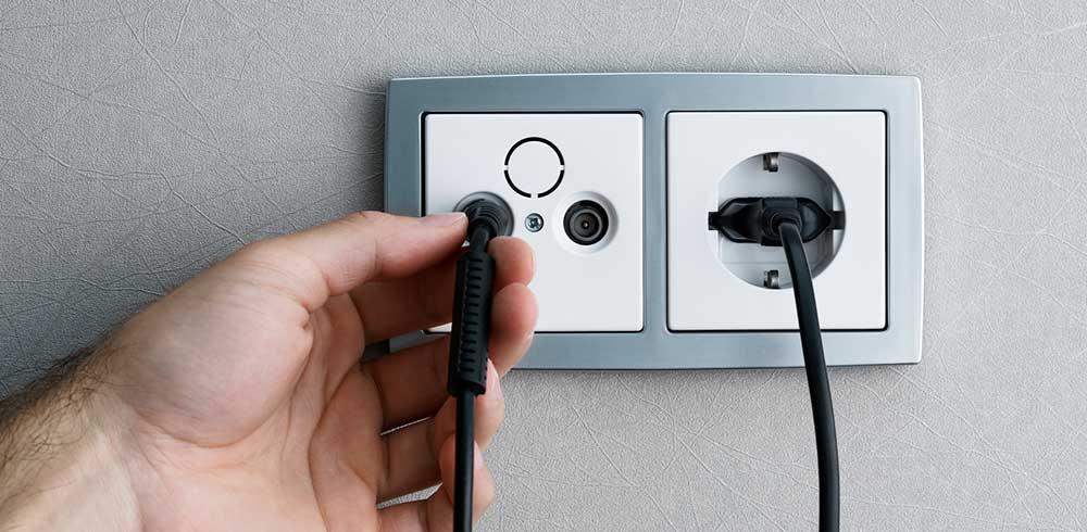tv point socket installation cost