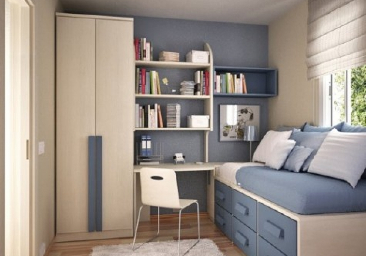 space saving advice for small bedrooms